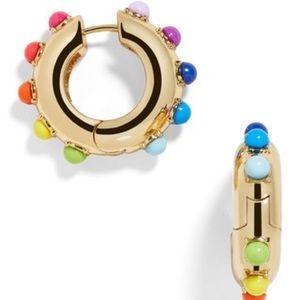 NWOT Anthro BaubleBar Colorful Hoop Earrin…